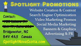 spotlight nova scotia business card
